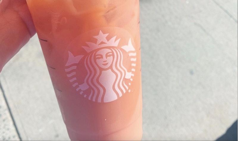 The Fall Iced Tea at Starbucks is a secret menu item with pumpkin sauce.