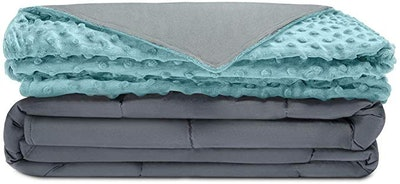 Quility Premium Adult Weighted Blanket & Removable Cover