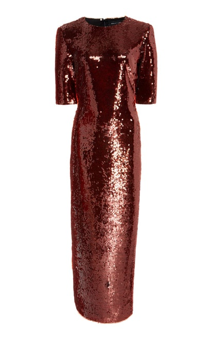 Sequined Maxi Dress