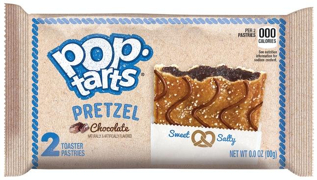 Pop-Tarts Pretzel Chocolate Flavor, arriving December 2019.