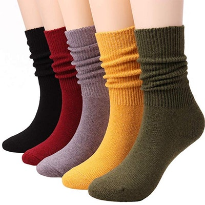 Tintao Cotton Socks (5-Pack)