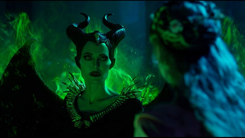 Angelina Jolie as Maleficent in Mistress of Evil