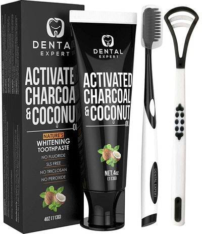 Dental Expert Activated Charcoal Teeth Whitening Toothpaste