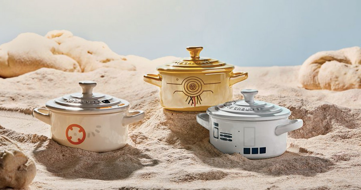 Le Creuset's 'Star Wars' Collection Is A Foodie Fan's Dream