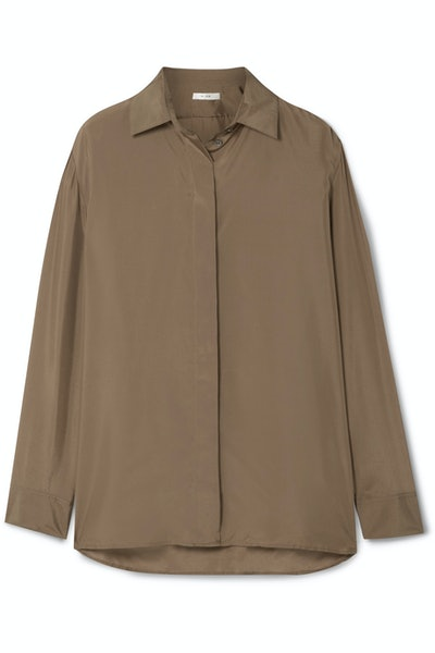 Sisea Silk-Satin Shirt