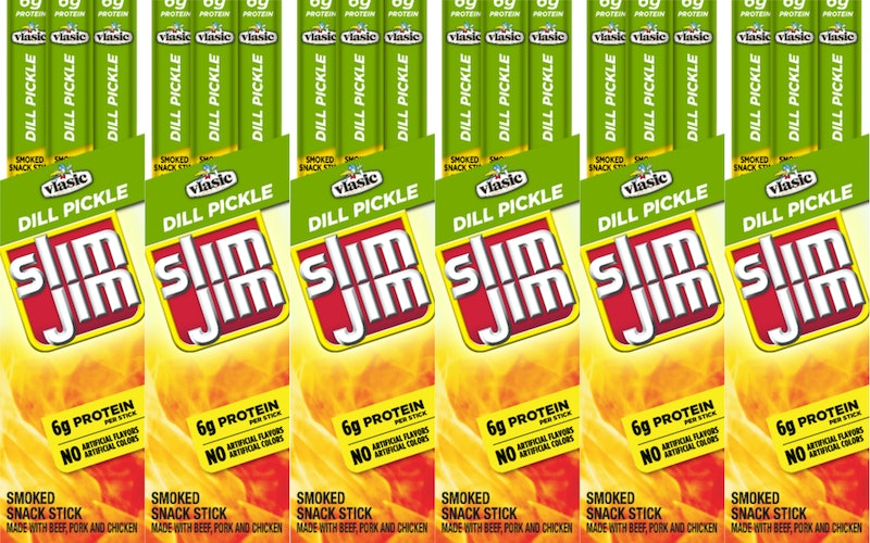 Vlasic Dill Pickle-Flavored Slim Jims.