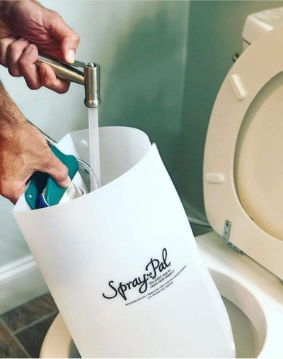 Spray Pal Original Cloth Diaper Sprayer Splatter Shield