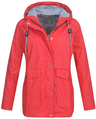 KASAAS Rain Jacket For Women