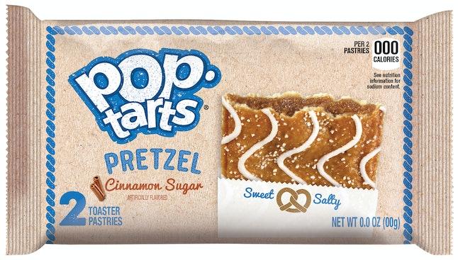Pop-Tarts Pretzel Cinnamon Sugar Flavor, arriving December 2019.
