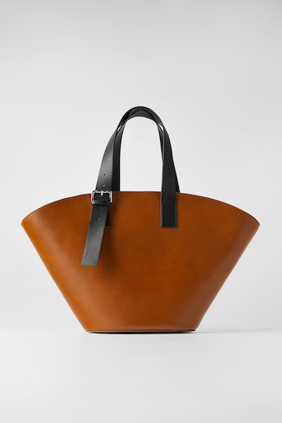 Extra-Large Leather Tote
