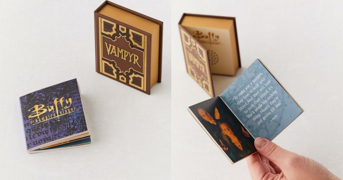 The Slayer Handbook From 'Buffy' In Available In Mini Form
