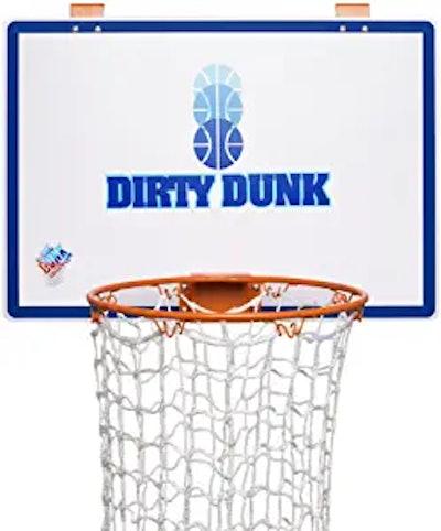 Dirty Dunk Over-the-Door Basketball Hamper