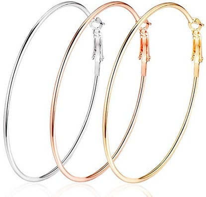 Cocadant Hoop Earrings (Set of 3)
