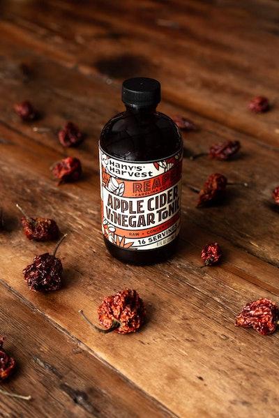Hany's Harvest Carolina Reaper Apple Cider Vinegar Fire Tonic
