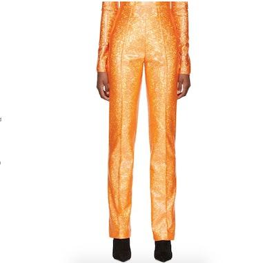Saks Potts Orange Shimmer Lissi Trousers