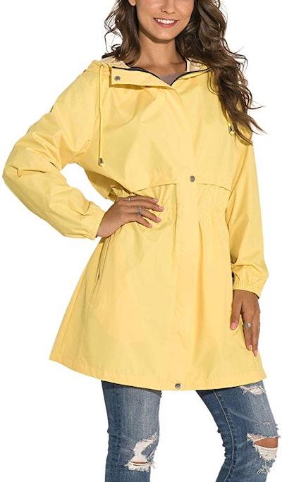 GUANYY Women's Rain Jacket