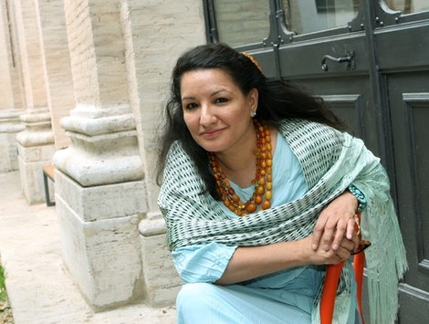 Sandra Cisneros, author of 'The House On Mango Street,' at the Festival of Literature in Rome in 2006