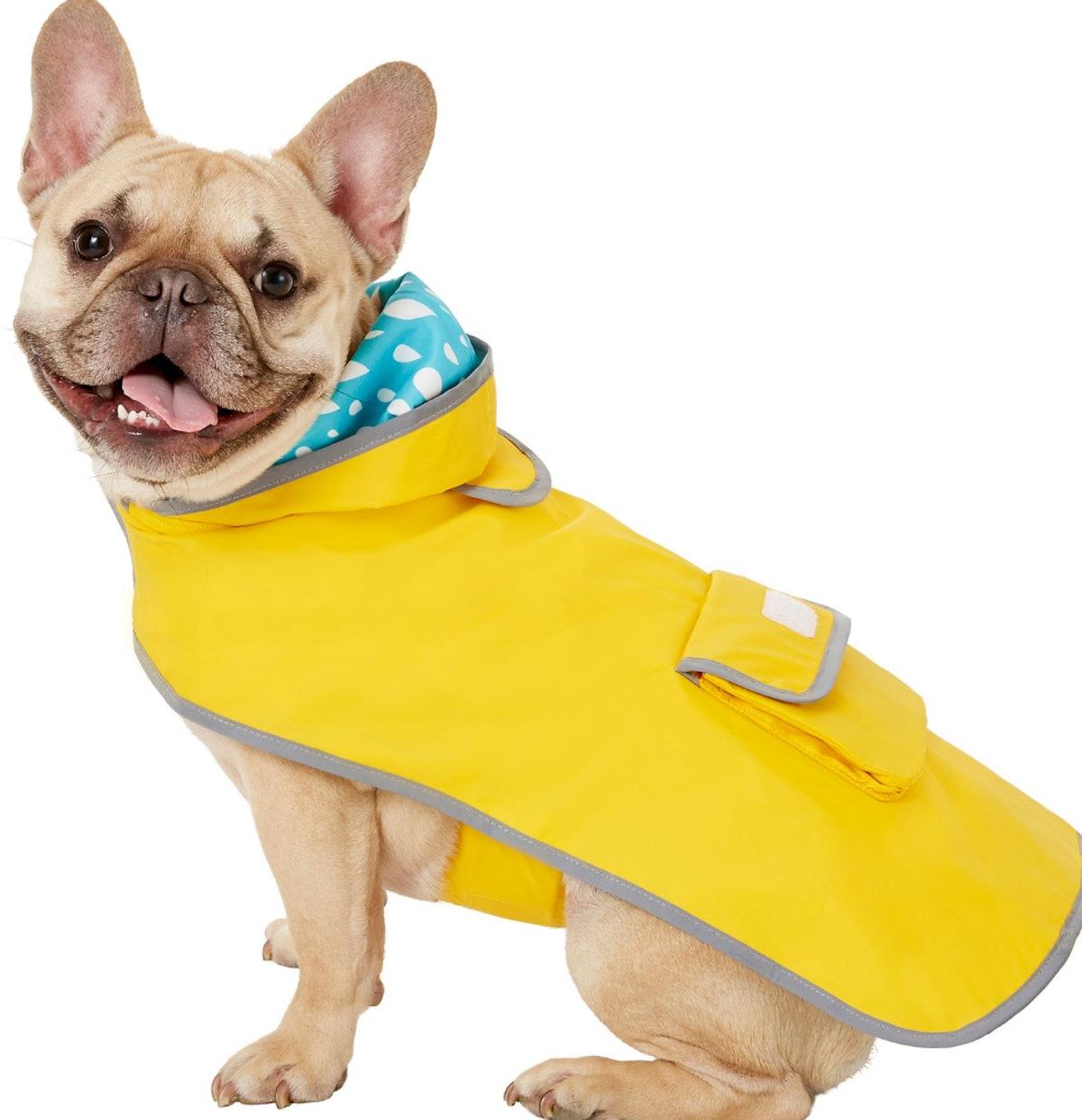 Frisco Reversible Travel Dog Raincoat