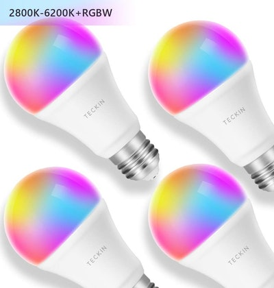 T Teckin Smart Light Bulb (4-Pack)