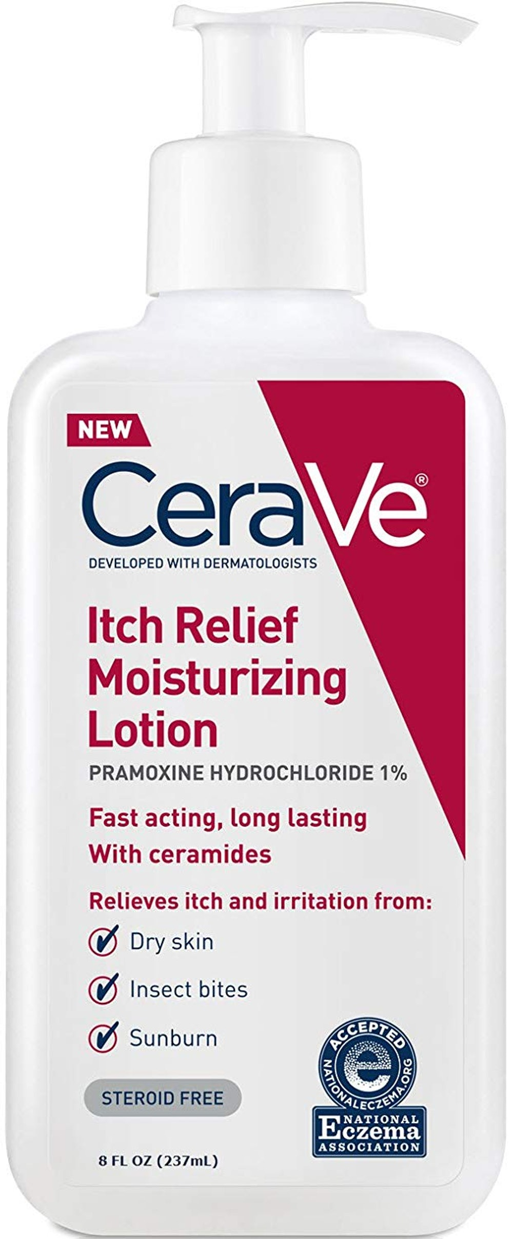 CeraVe Moisturizing Lotion For Itch Relief (8 Ounces)