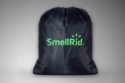 SMELLRID Reusable Activated Charcoal Odor Proof Bag