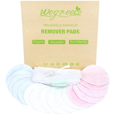 wegreeco Reusable Makeup Remover Pads (16 Pads)