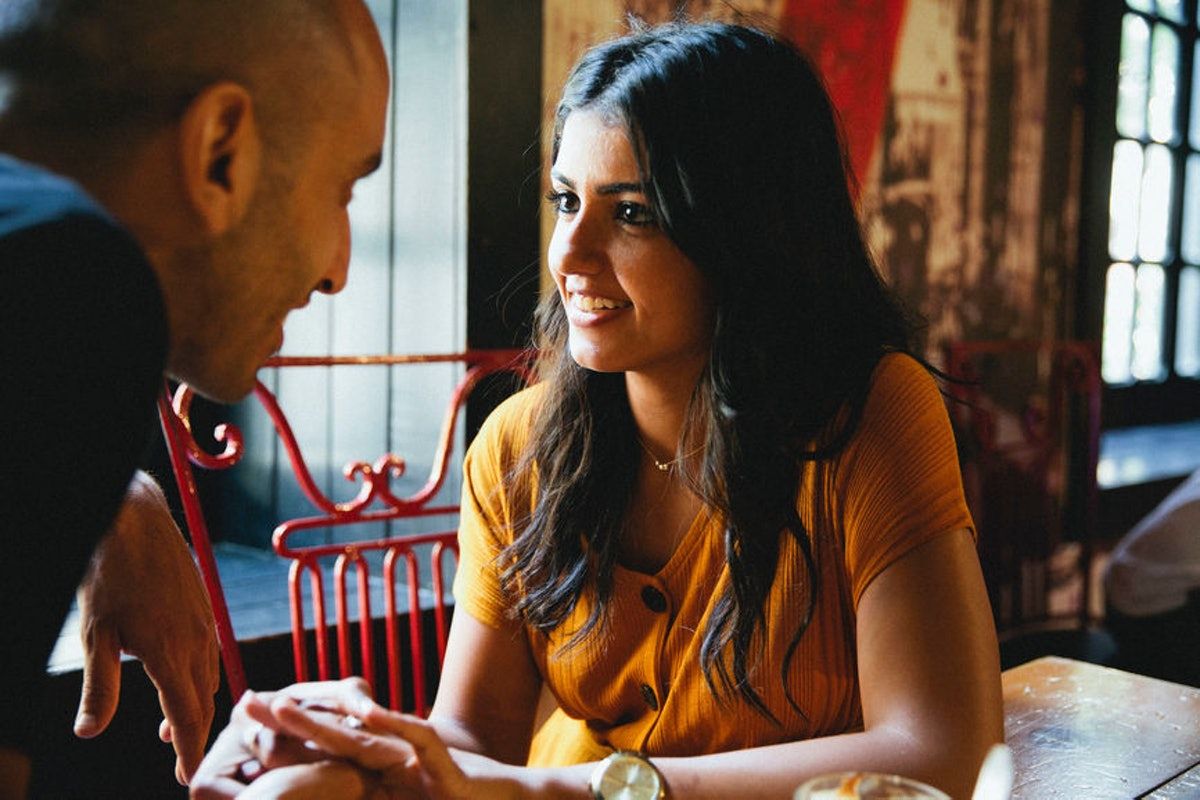 Having a great first date conversation is a good signal that a second date is coming.