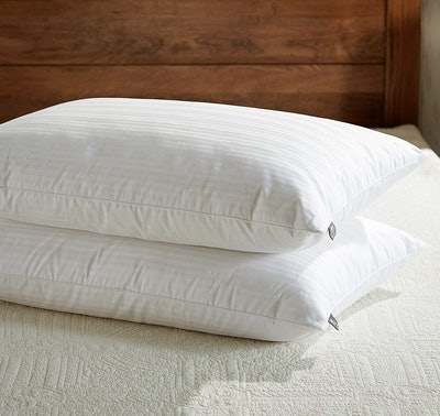 Downluxe Goose Feather Down Pillows (Set Of 2)