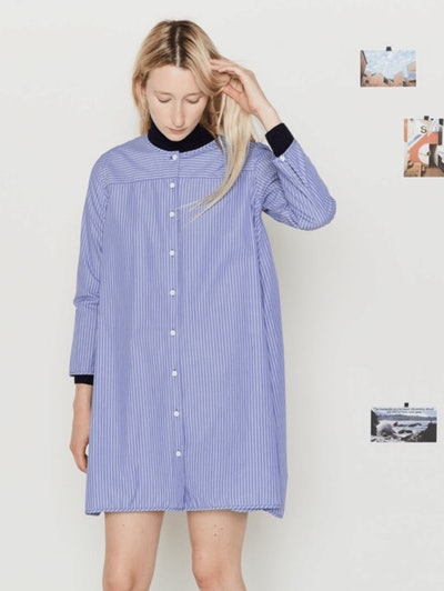 A Damsel in Dis Dress Shirt Dress