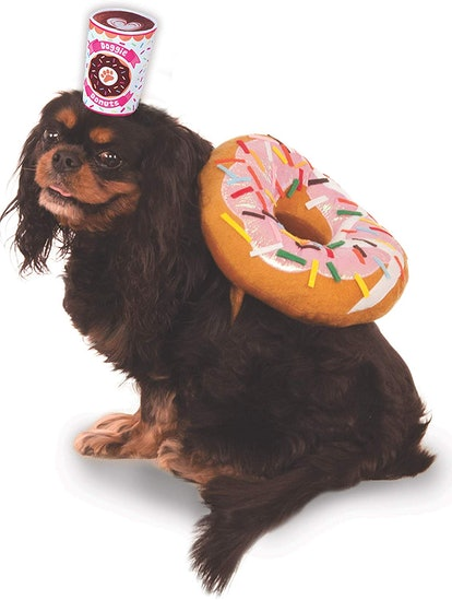 Rubie's Costume Company Donut and Coffee Pet Suit