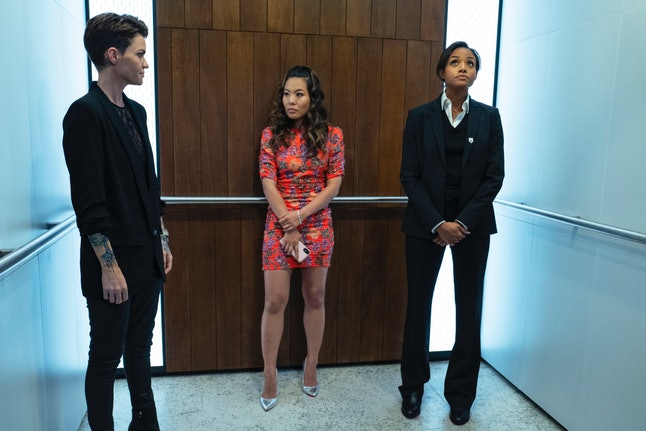 Meagan Tandy as Sophie Moore in The CW's 'Batwoman.'