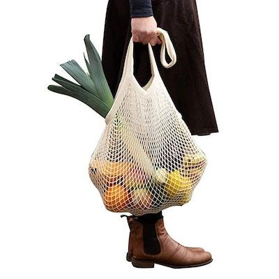 Reusable Produce Cotton Mesh Bag