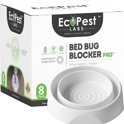 EcoPest Labs Bed Bug Interceptors (8-Pack)