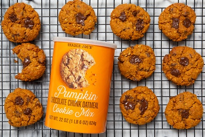 Pumpkin Chocolate Chunk Oatmeal Cookie Mix, Credit: Trader Joe's