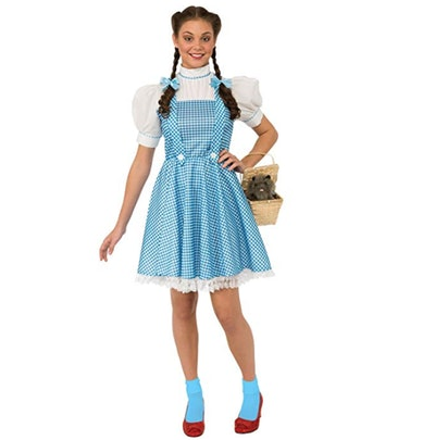 Women's Wizard Oz Adult Dorothy Dress