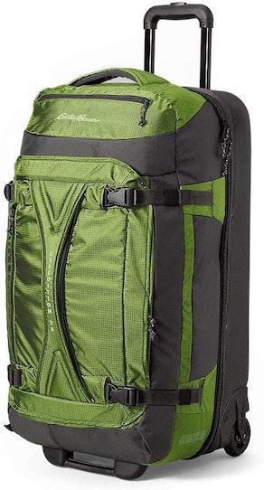 Eddie Bauer Expedition Drop-Bottom Rolling Duffel Bag