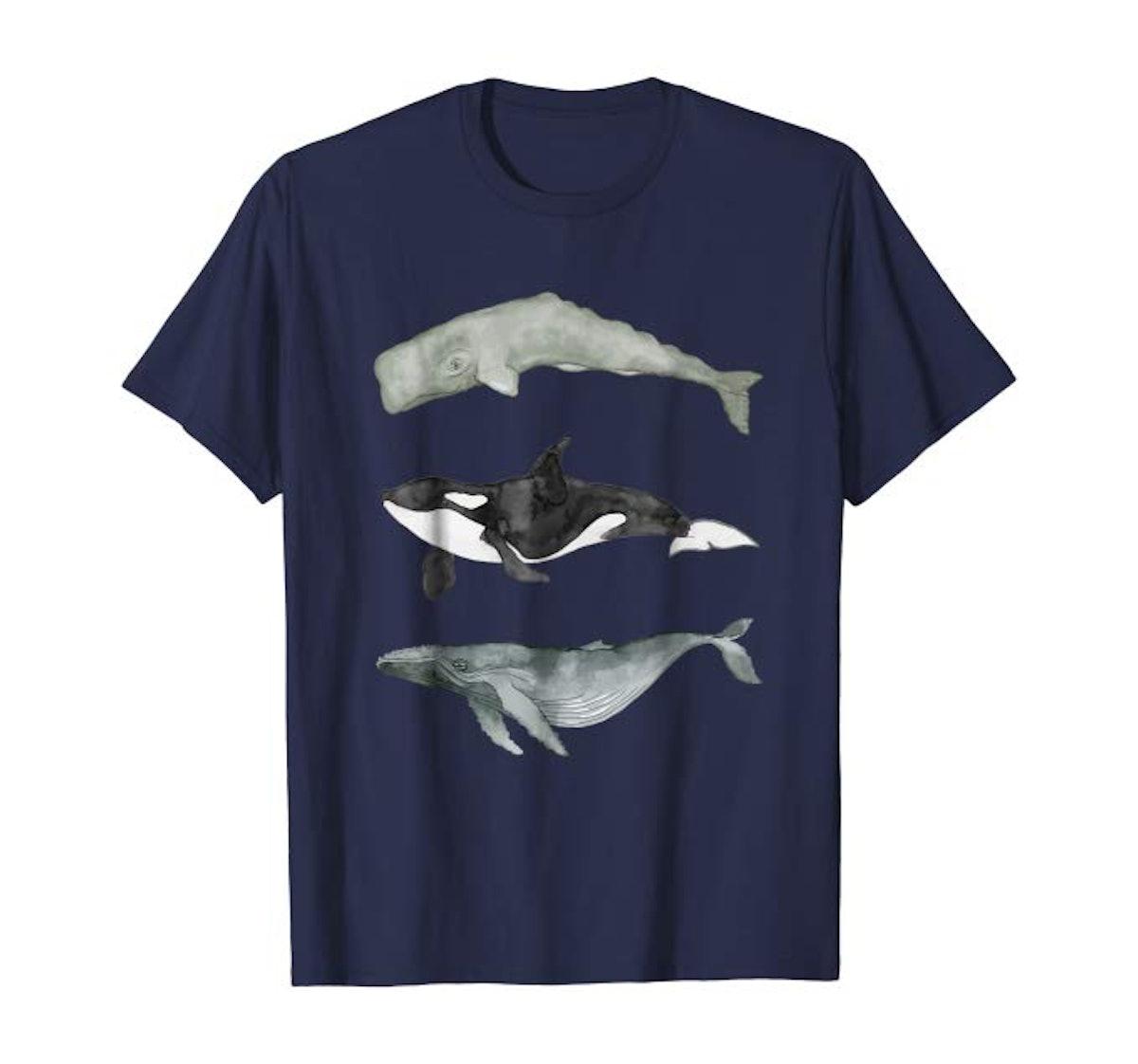 Whale Trio Shirt