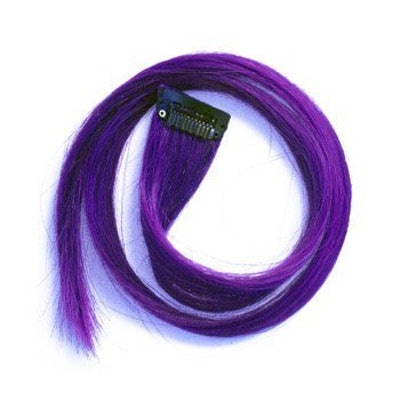 Purple Clip-In Hair Extensions