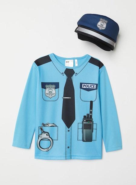 Light Blue Police Officer Costume