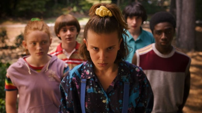 'Stranger Things' is popular this year for Halloween costumes.