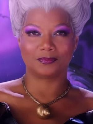 The 'Little Mermaid Live!' cast includes Queen Latifah as Ursula