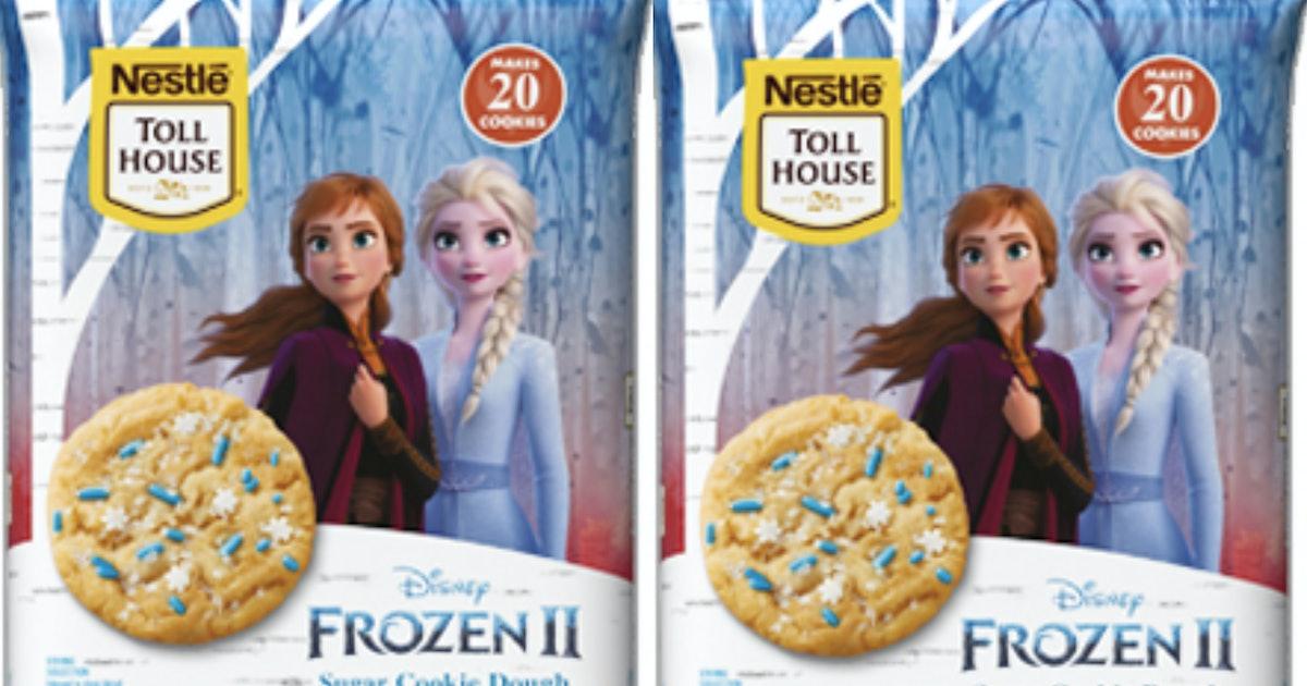 'Frozen 2' Cookie Dough From Nestlé Just Hit Shelves