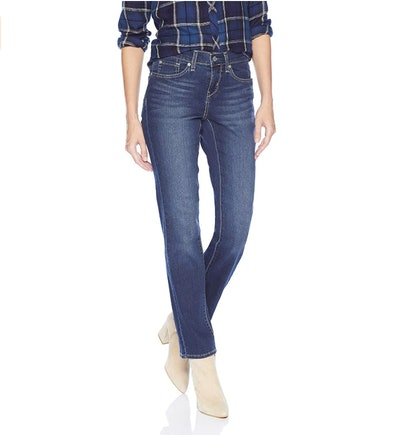 Levi Strauss & Co. Gold Label Women's Curvy Straight Jeans