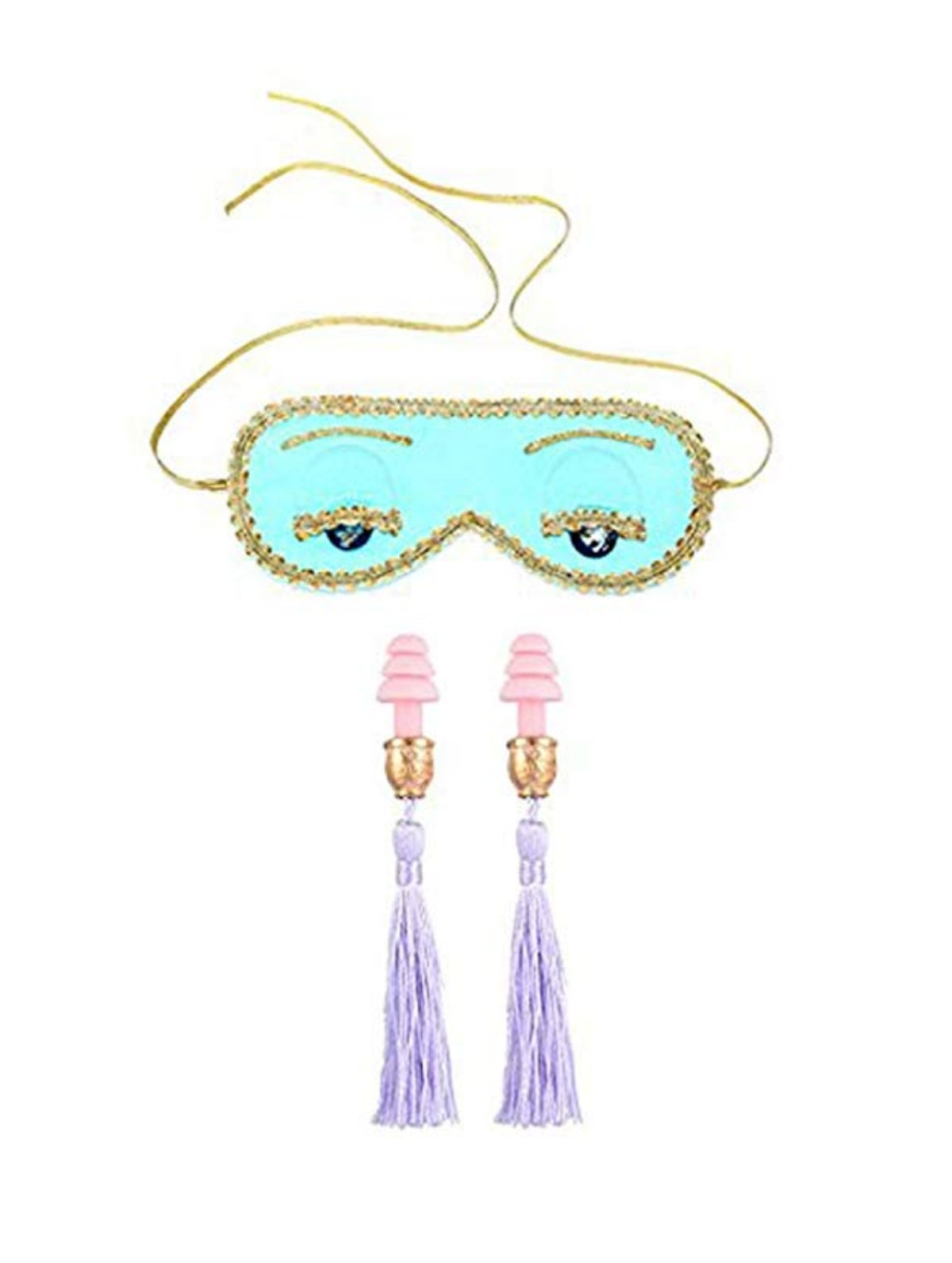 Utopiat's Breakfast at Tiffany's Sleep Mask and Earplugs Set