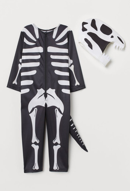 Black Skeleton Dinosaur Costume