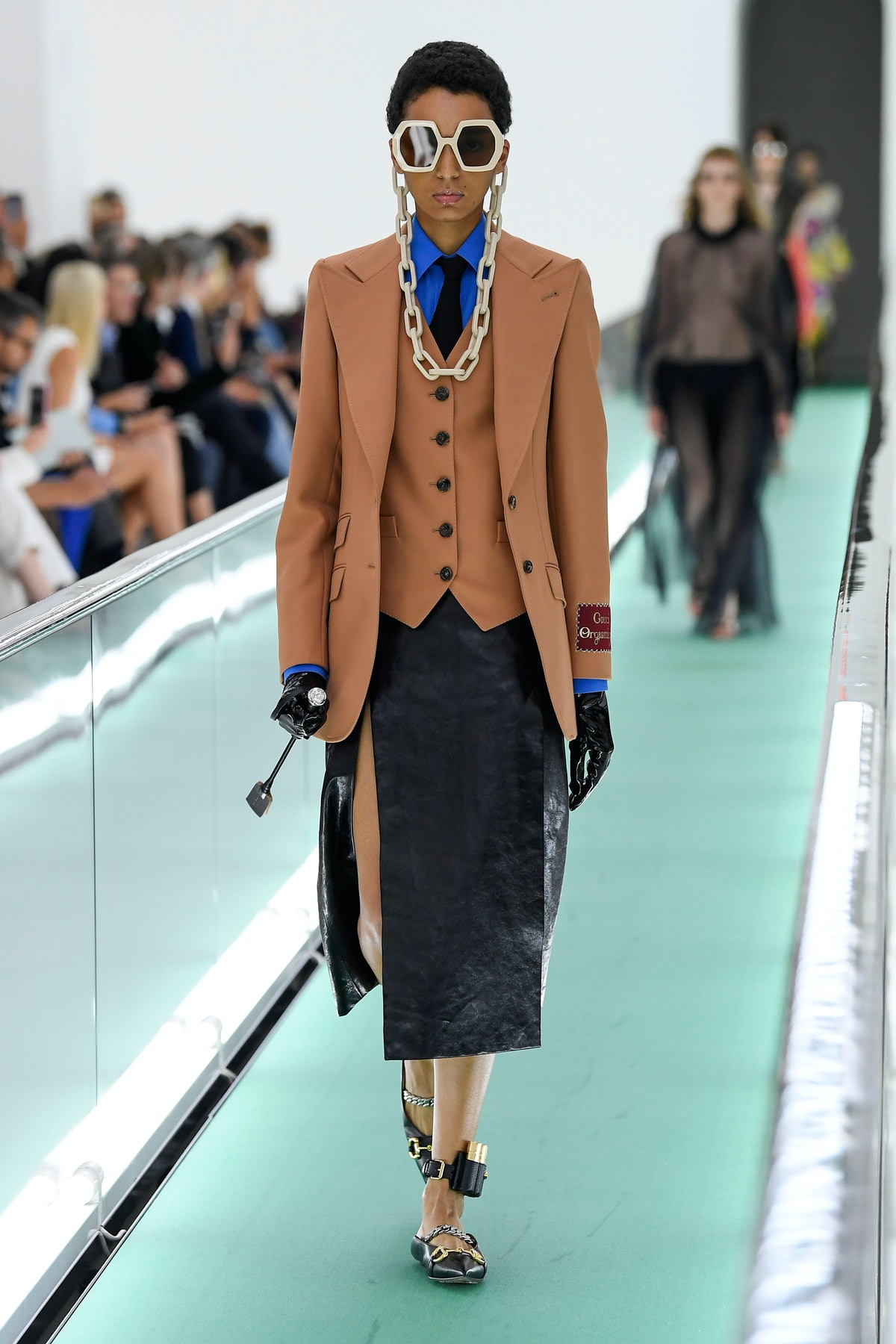 70s runway trend for Spring 2020 at Gucci