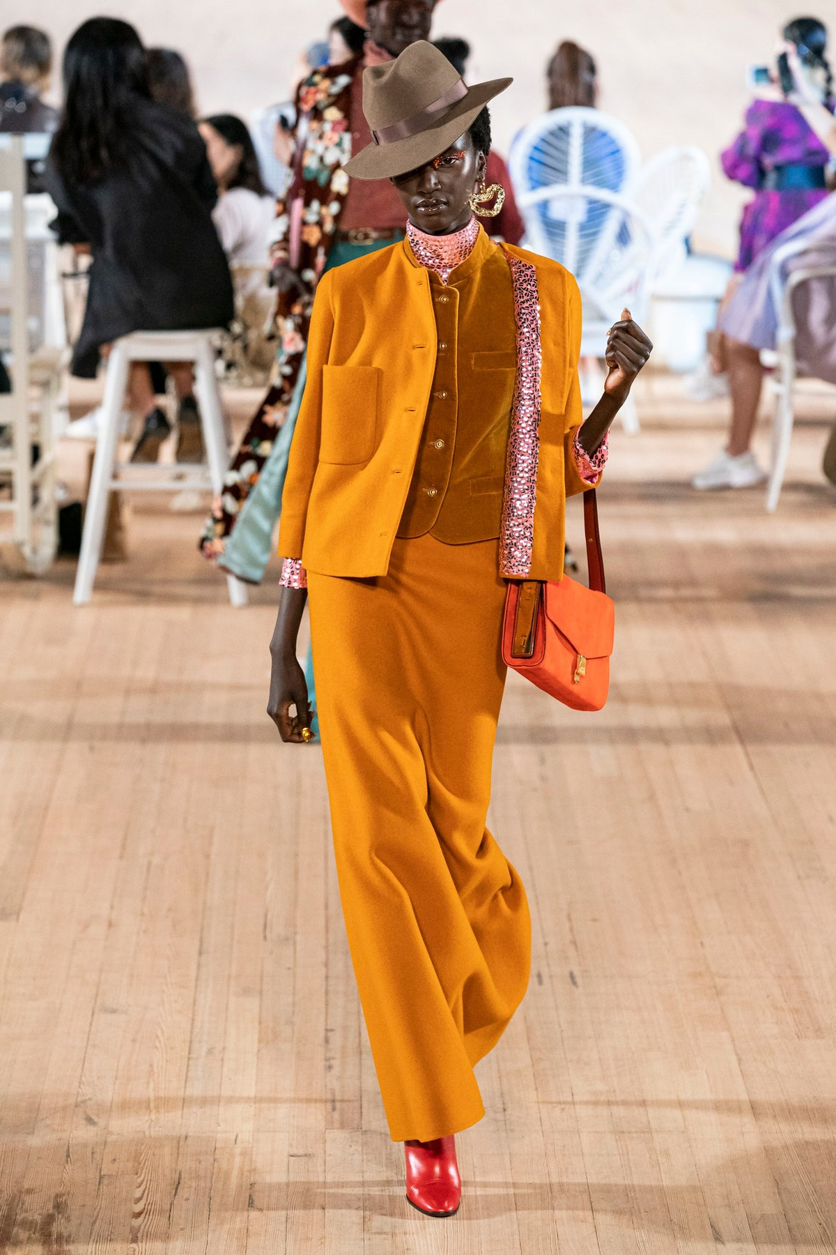 70s trend for Spring 2020 at Marc Jacobs