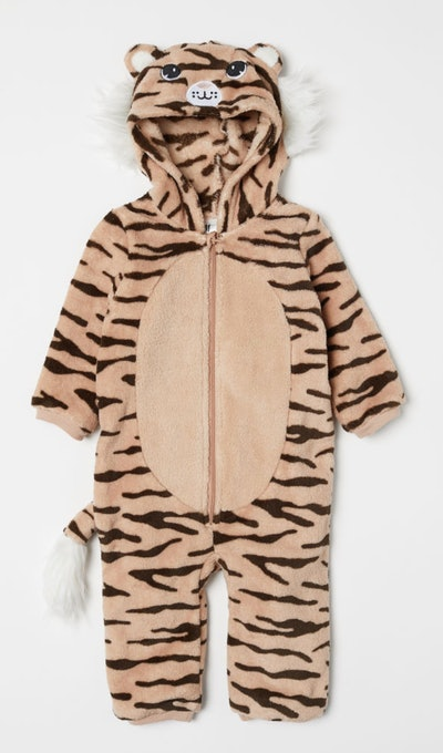Beige Tiger Costume