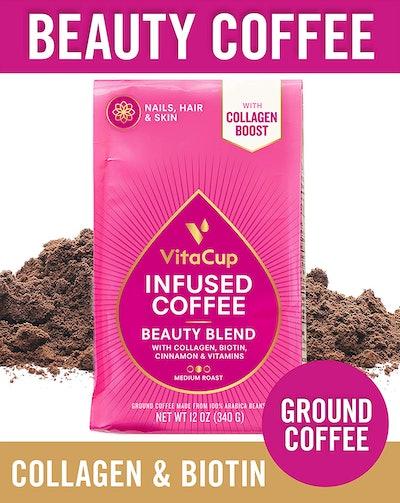 VitaCup Collagen Ground Coffee
