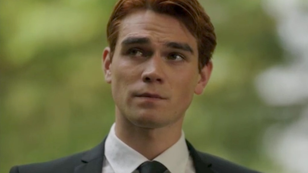 Archie gave a moving eulogy for Fred Andrews on 'Riverdale'